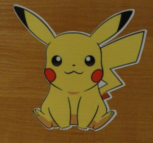 Наклейка Покемон Pokemon на стену, мебель, стекло