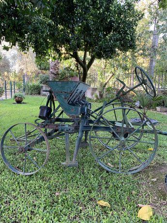 Semeador antigo - decoração de jardim