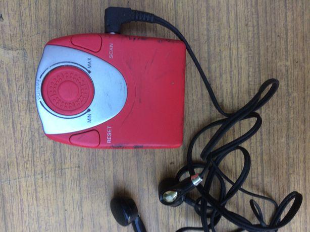Mini Radio FM + słuchawki