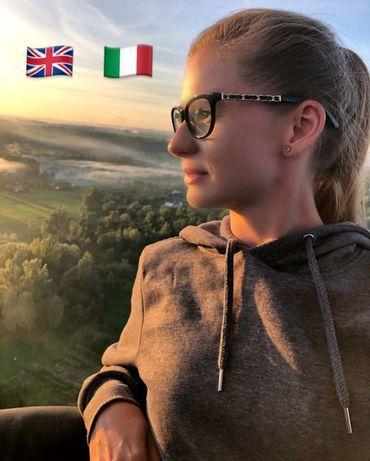Репетитор з англійської,італійської мови