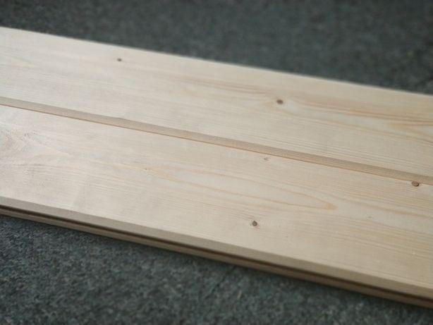 Deska elewacyjna,  Szalówka drewniana, boazeria, podbitka