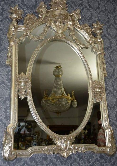 Espelho prateado Costa Da Caparica - imagem 1