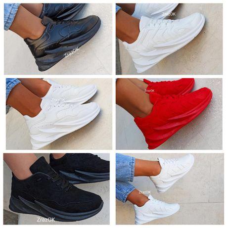 Черные белые красные кроссовки кеды ботинки женские деми shark adidas
