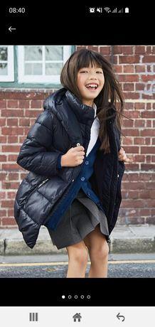 Куртка, пальто,  пуховик Next на дівчинку розмір 128