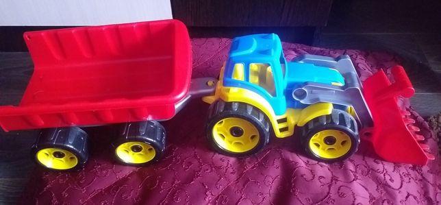 Трактор дитячий, трактор з прицепом