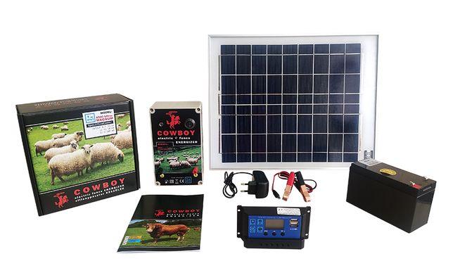 Електропастух Cowboy 8500 на солнечной батарее