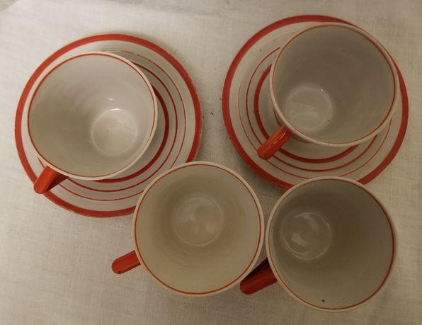 Чашки Блюдца Блюдця