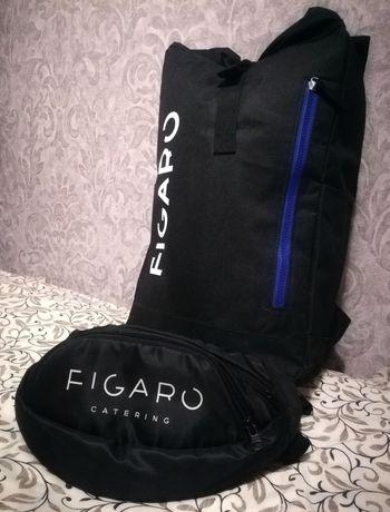 Базовый набор: удобный, вместительный  урбан рюкзак и сумка-бананка.