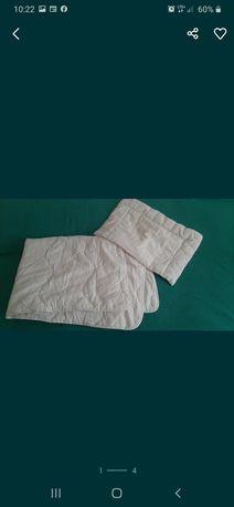 Komplet kołderka dziecięca poduszka dla dziecka Detexpol 100x135 40x60