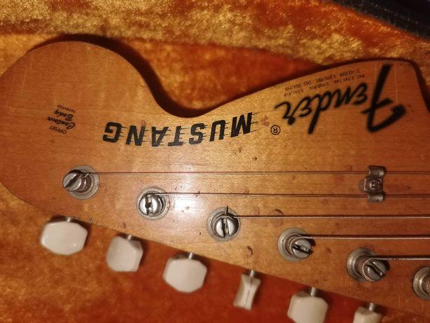 Gitara Fender Mustang produkcja USA-CBS zamienię na samochód