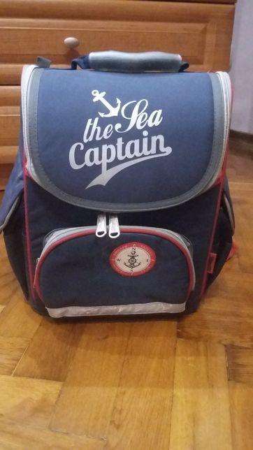 Рюкзак с ортопедической спинкой для 1-2 класса