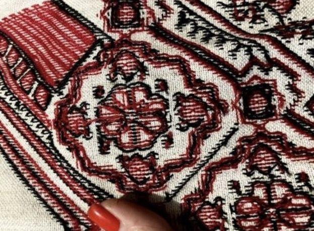Плаття вишиванка льон