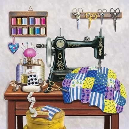 Costureira arranjos de roupas