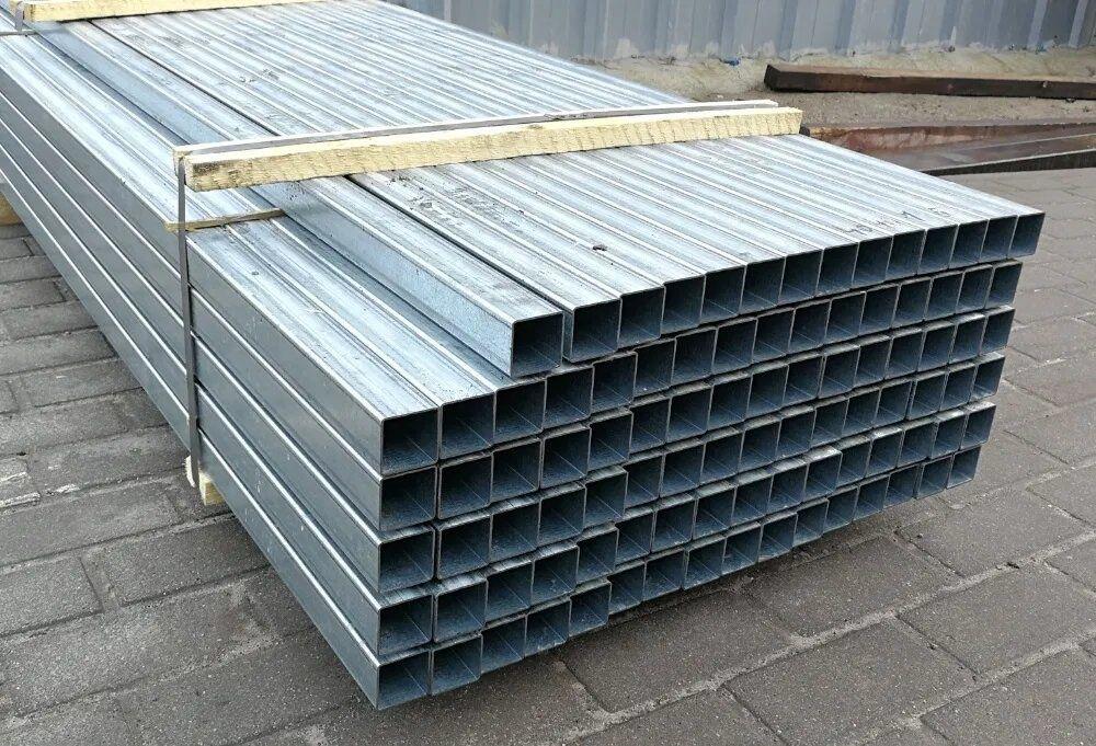 50x50x1,5mm OCYNK Profil zamknięty / rura prostotąt / kształtownik L6m Lubicz Dolny - image 1