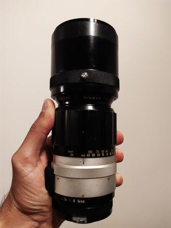 Objectiva vintage NIKON 300mm f/4.5 nikkor-h
