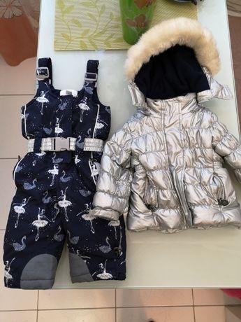 Термокостюм для девочки (74) Chicco Ballet куртка и полукомбинезон