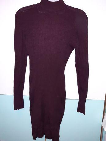 Amisu sukienka dzianinowa swetrowa 38 36