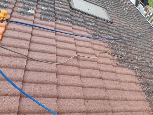 Mycie malowanie dachu dachów elewacji, fasad, naprawy dekarskie