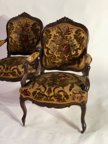 Para foteli styl Ludwik. vintage ( Francja)