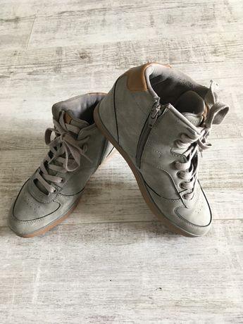 Sneakersy Diverse koturn rozm.39