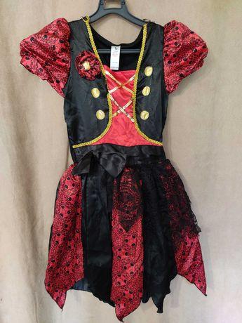 3 - 4 года 104см Детский Костюм Пират Пиратка Хэллоуин Маскарад