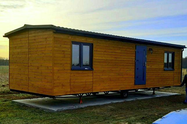 Dom  domek całoroczny drewniany