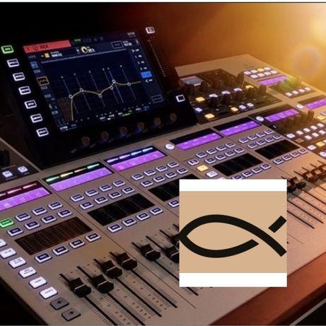 Цифровой пульт Behringer WING; Allen Heath SQ; Midas M; Soundcraft Si