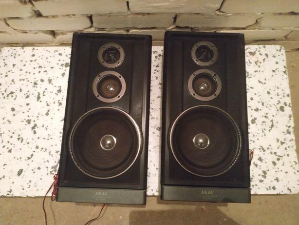Głośniki kolumny odsłuchy AKAI SW-M393 Made in Korea 80w