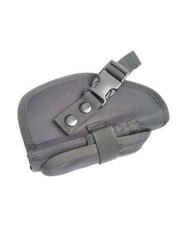 Kabura na Velcro rzep nowa broń krótka i mag gun carry czarna ASG