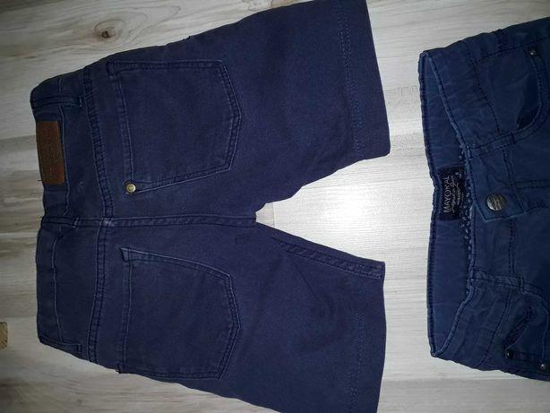 krótkie spodenki, szorty H&M rozmiar 116, 5 - 6 lat