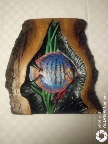 Dyskowiec- Płaskorzeźba 3D,