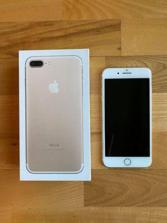 iPhone 7 plus 32GB (złoty) + 2 etui