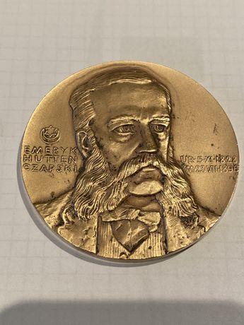 Medal Emeryk Hutten- Czapski 1978. Mennica Warszawska