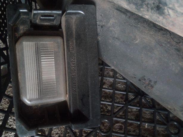 Nissan patrol lampka oświetlenia rejestracji