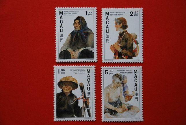 selos de Macau novos