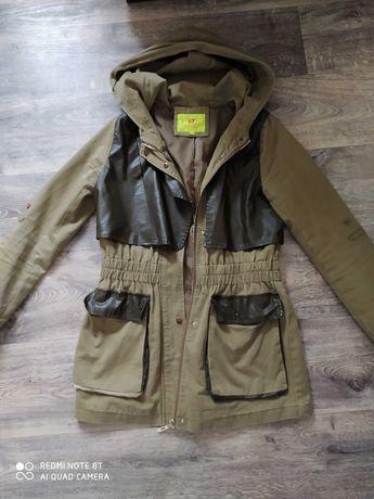 Куртка, плащ размер s