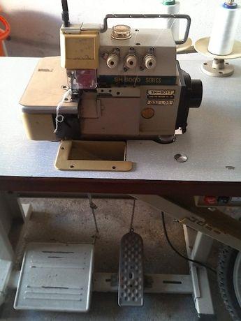Vendo máquina de corte e cose e máquina de costura Oliva