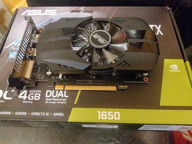 GeForce GTX 1650 OC 4GB DDR5 Asus Phoenix gwarancja