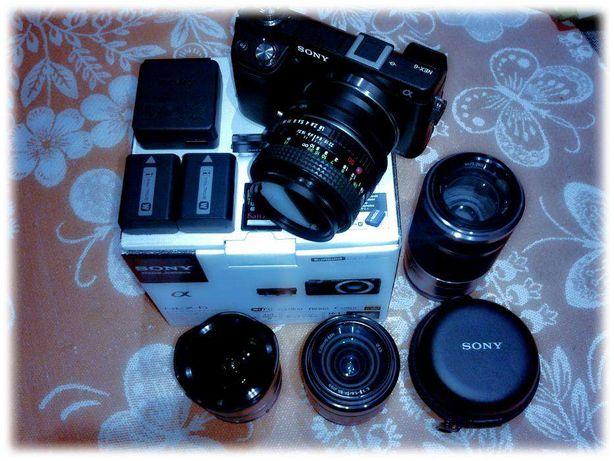 Sony Nex-6 с оптикой