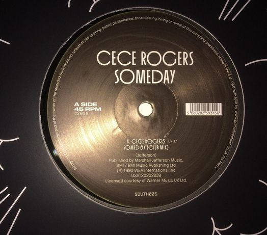 Ce Ce Rogers ‎– Someday (novo / mint)
