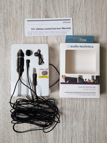 Mikrofon lavalier AudioTechnika-nagrywanie dźwięku!
