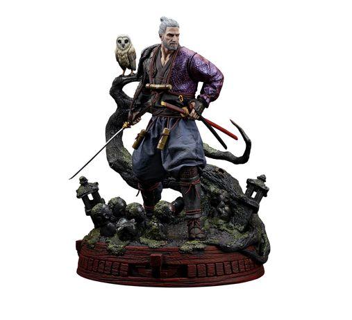 Geralt ronin - witcher resina