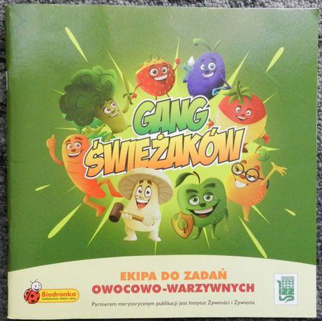 Biedronka - Gang Świeżaków, Ekipa do zadań owocowo - warzywnych