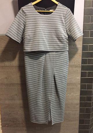 Платье 2в1 костюм asos