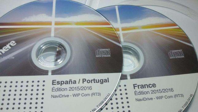 DVD / CD Peugeot e Citroen - Atualização GPS / Navegação