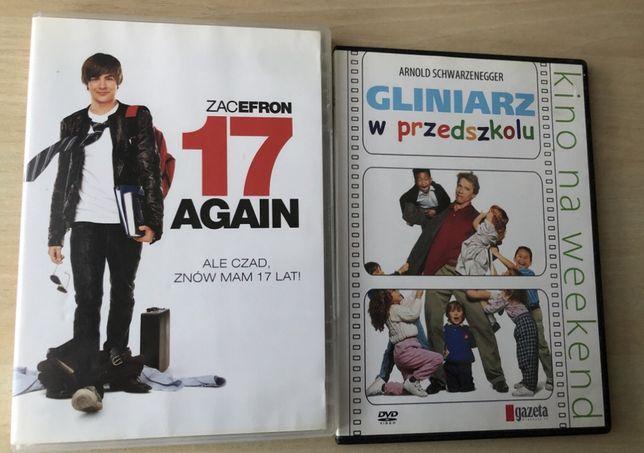 17 Again i Gliniarz w przedszkolu filmy DVD od 5 zł