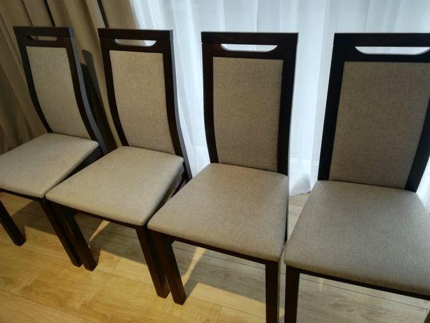 Krzesła, komplet 4 sztuki, Black Red White