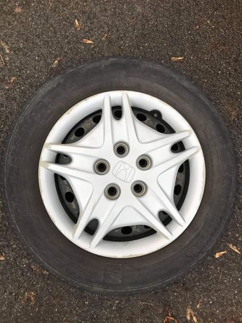 Opony zimowe , felgi stalowe , Honda Accord
