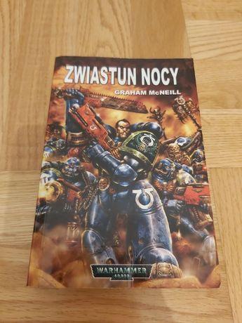 Zwiastun nocy (Warhammer 40,000) Graham McNeill (Unikat)