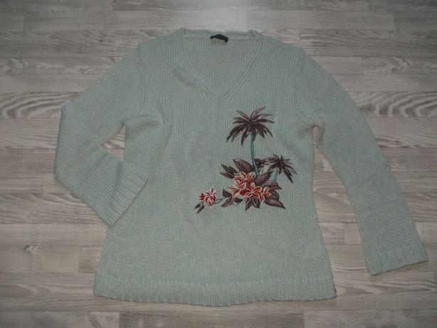 Sweter z aplikacją 44 / XL-XXL (165)